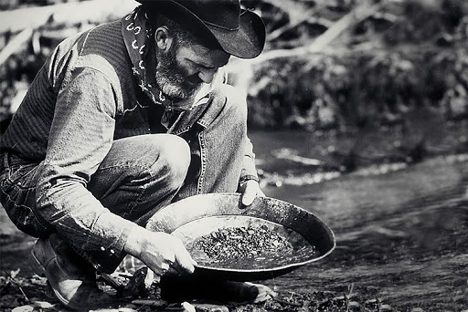 Gold Rush Old Photo