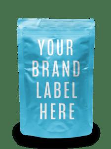 white label Gummy CBD Pouch