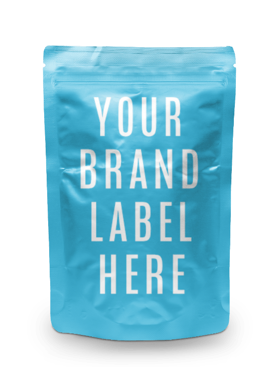 white label Gummy CBD Pouch