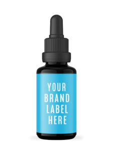 White Label CBD Tincture Bottle