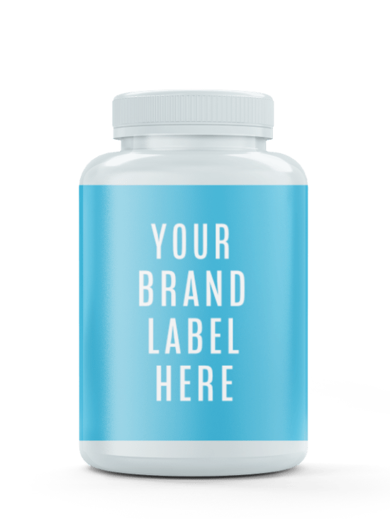 white label Pill Bottle