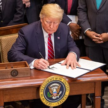 Trump signs farm bill