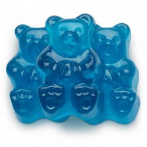 Blue CBD Gummy Bears